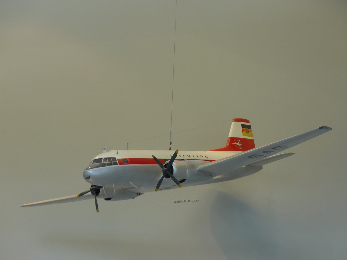 (182'973) - Model Interflug - DM-SAG - von 1957 am 8. August 2017 in Dresden, Verkehrsmuseum