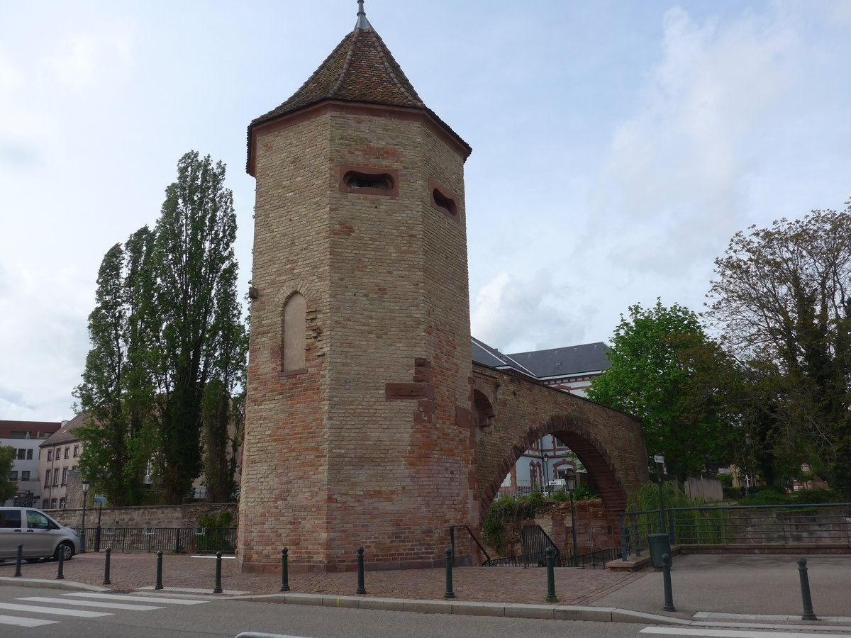 (204'052) - Turm der Fischer am 26. April 2019 in Haguenau