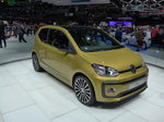 Volkswagen/487362/169185---vw-up-am-7 (169'185) - VW up! am 7. März 2016 im Autosalon Genf