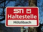 STI Thun/284508/136832---sti-haltestelle---pohlern-hoelzlibach (136'832) - STI-Haltestelle - Pohlern, Hölzlibach - am 22. November 2011
