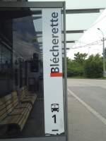 TL Lausanne/287153/138737---tl-haltestelle---lausanne-blcherette (138'737) - TL-Haltestelle - Lausanne, Blécherette - am 13. Mai 2012