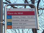 Sion/531594/176596---bus-sdunois-haltestelle---sion-place (176'596) - BUS-Sédunois-Haltestelle - Sion, Place du Midi - am 12. November 2016